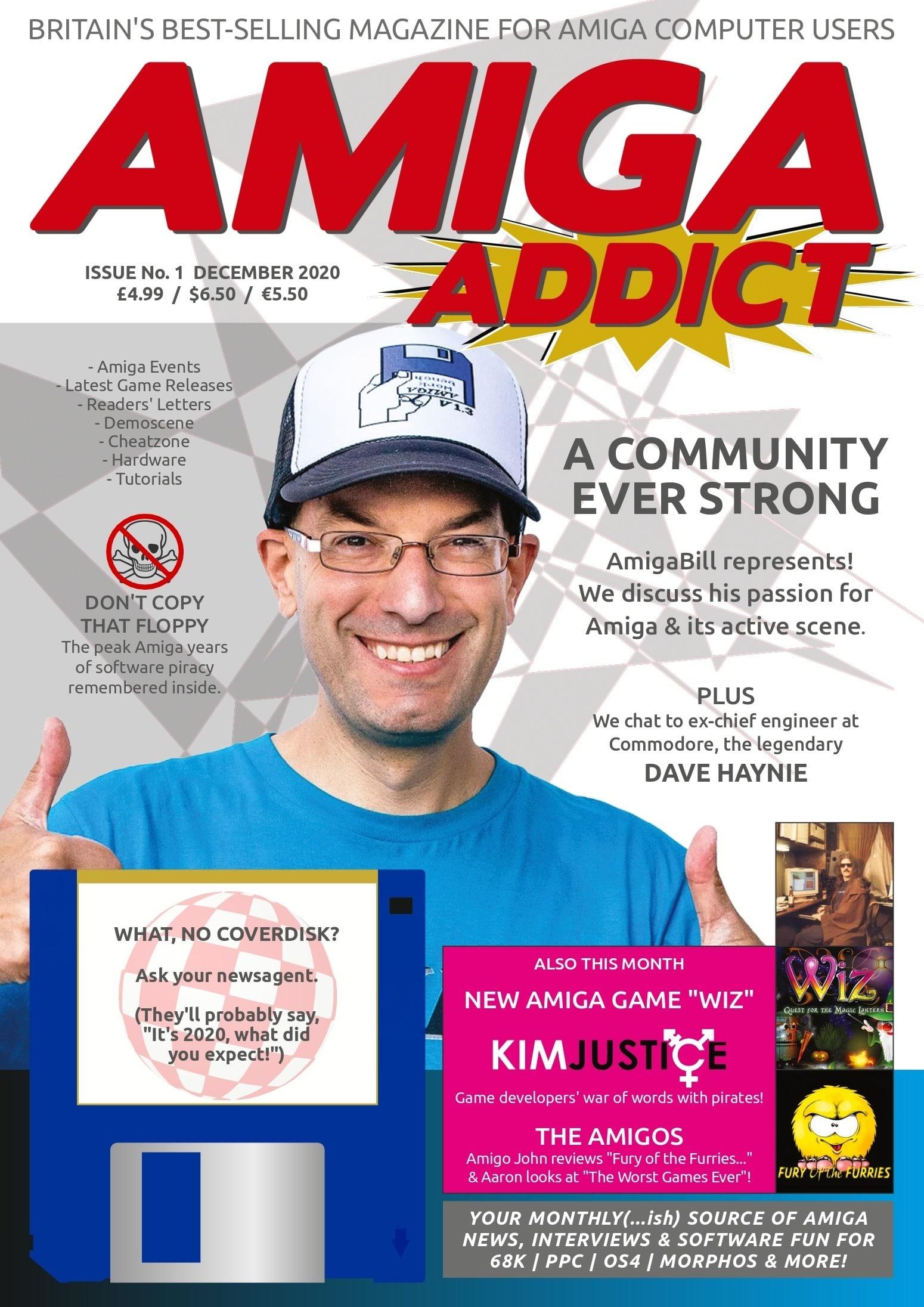 Amiga Addict magazine cover issue 01