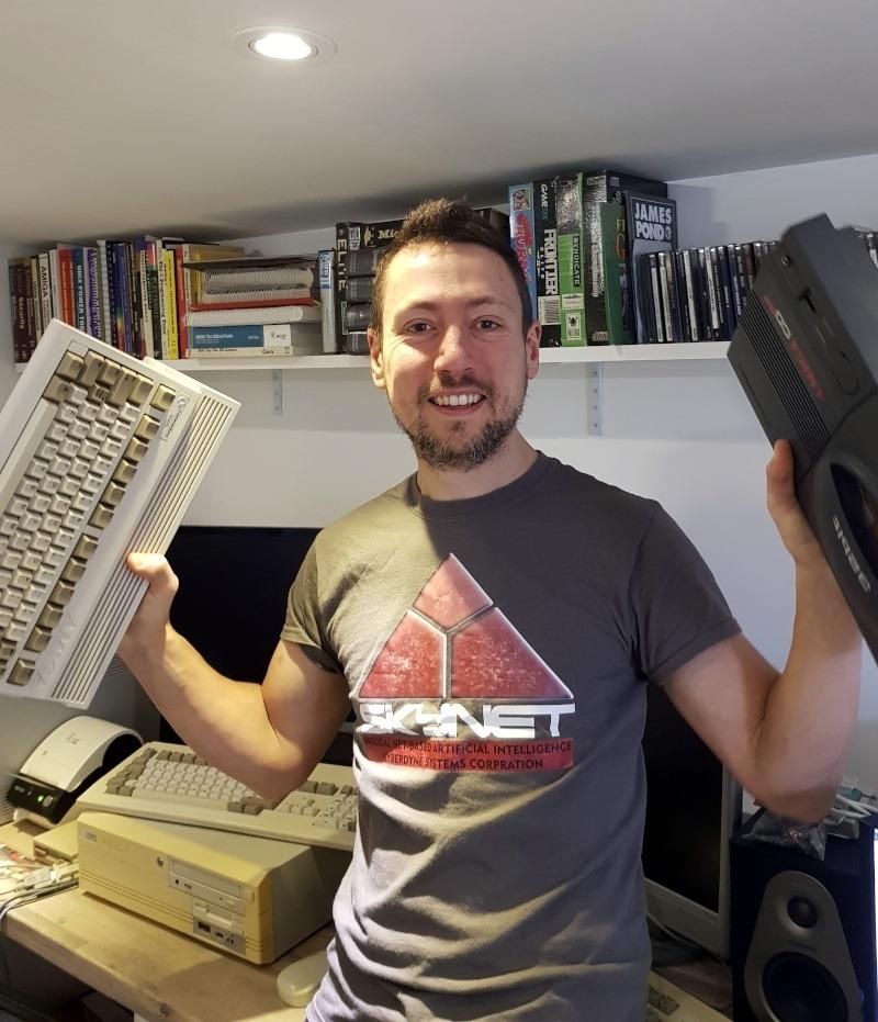Jonah Naylor - Amiga Addict magazine editor