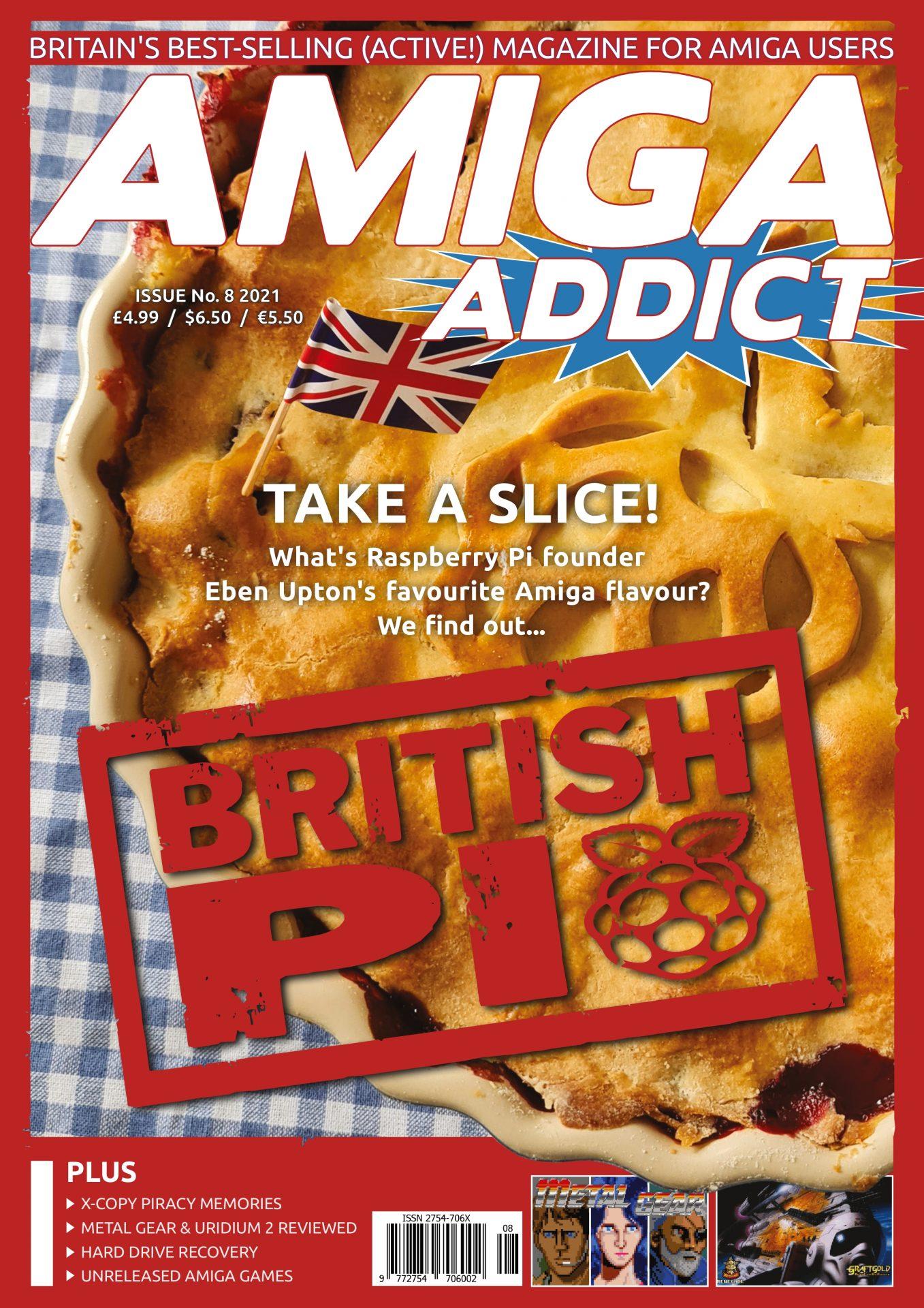 Issue 8 Amiga Addict magazine